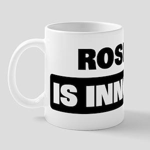 ROSELYN is innocent Mug