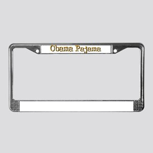 Obama Pajama! License Plate Frame