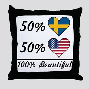 50% Swedish 50% American 100% Beautiful Throw Pill