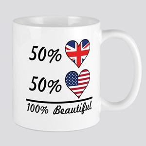 50% British 50% American 100% Beautiful Mugs
