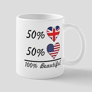 50% British 50% American 100% Beautiful Mugs