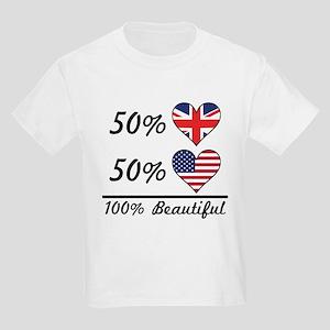 50% British 50% American 100% Beautiful T-Shirt