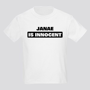 JANAE is innocent Kids Light T-Shirt