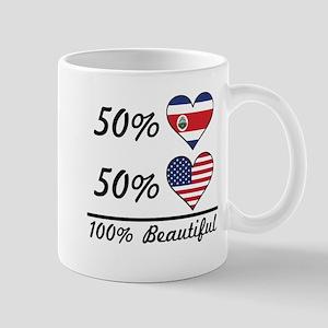 50% Costa Rican 50% American 100% Beautiful Mugs