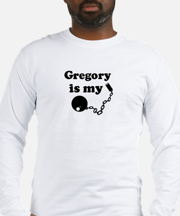 Gregory (ball and chain) Long Sleeve T-Shirt