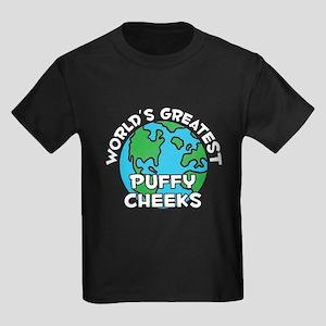 World's Greatest Puffy.. (G) Kids Dark T-Shirt
