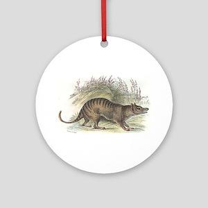 Thylacine Wolf Ornament (Round)
