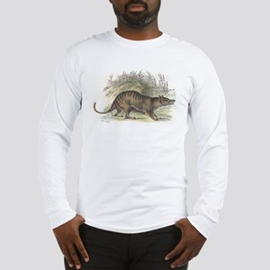 Thylacine Wolf Long Sleeve T-Shirt