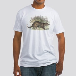 Thylacine Wolf Fitted T-Shirt