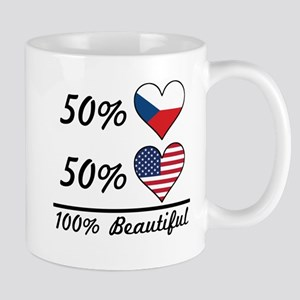 50% Czech 50% American 100% Beautiful Mugs