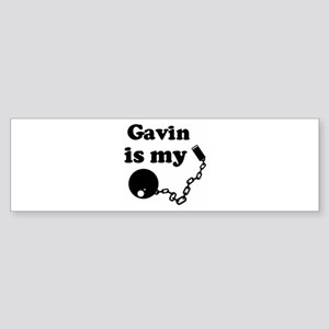 Gavin (ball and chain) Bumper Sticker