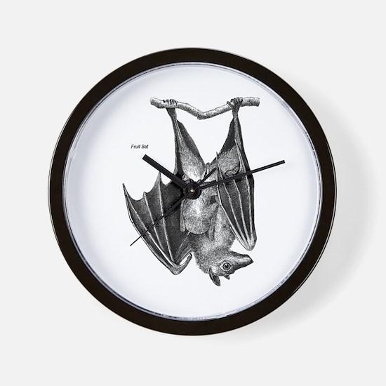 Fruit Bat Wall Clock