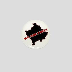 Kosova Independence!! Mini Button