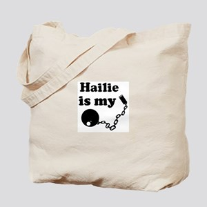Hailie (ball and chain) Tote Bag