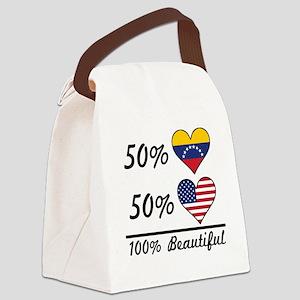 50% Venezuelan 50% American 100% Beautiful Canvas