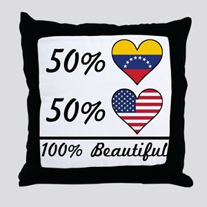 50% Venezuelan 50% American 100% Beautiful Throw P