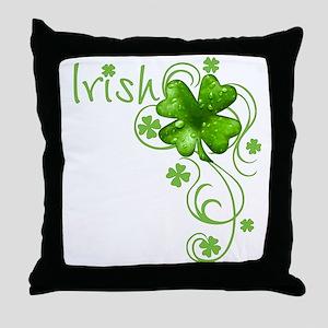Irish Keepsake Throw Pillow