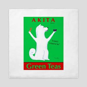 Akita Green Teas Queen Duvet