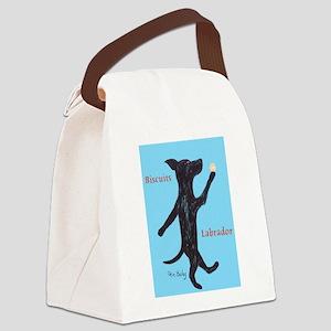 Biscuits Labrador Canvas Lunch Bag