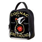 Greyhound Cognac Neoprene Lunch Bag