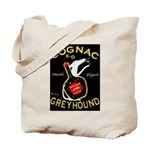 Greyhound Cognac Tote Bag