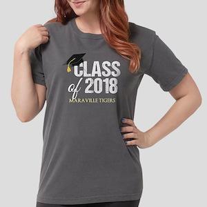 Class of 2018 Custom Womens Comfort Colors Shirt