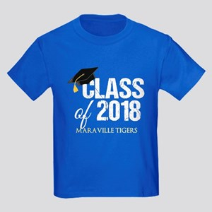 Class of 2018 Custom Kids Dark T-Shirt
