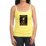 Greyhound Cognac Jr. Spaghetti Tank