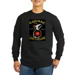 Greyhound Cognac Long Sleeve Dark T-Shirt