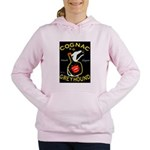 Greyhound Cognac Women's Hooded Sweatshirt