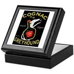 Greyhound Cognac Keepsake Box