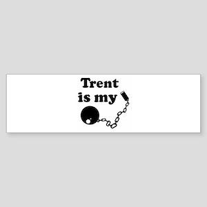 Trent (ball and chain) Bumper Sticker