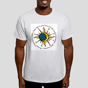 GW Quote Ash Grey T-Shirt