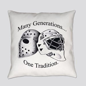 Goalie Masks Logo Everyday Pillow