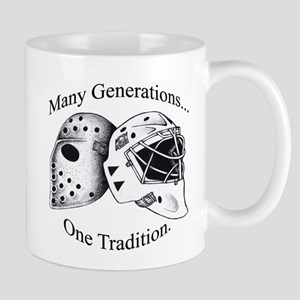 Goalie Masks Logo Mugs