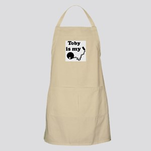 Toby (ball and chain) BBQ Apron