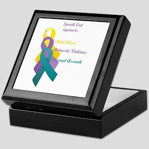 Speak Out Keepsake Box