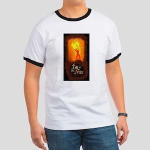 Burning Man Ringer T