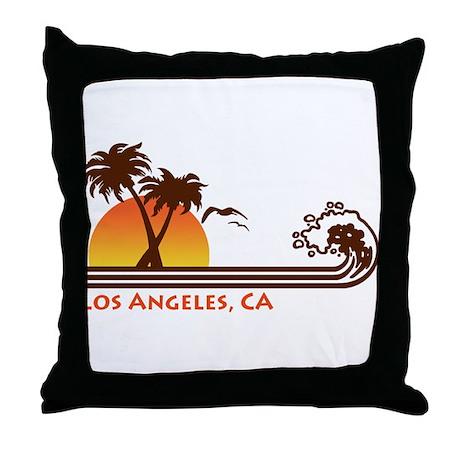 Los Angeles, CA Throw Pillow