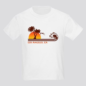 Los Angeles, CA Kids Light T-Shirt