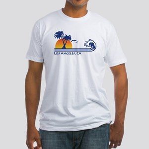 Los Angeles, CA Fitted T-Shirt