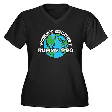 World's Greatest Rummy.. (G) Women's Plus Size V-N