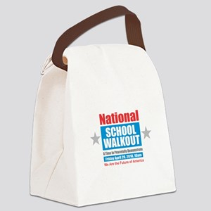 National School Walkout Canvas Lunch Bag