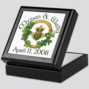 Shamrock Claddagh Keepsake Box