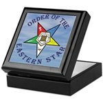 OES Star in the clouds Keepsake Box