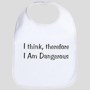 Dangerous Thinker Baby Bib