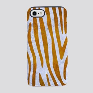SKIN4 WHITE MARBLE & YELLOW iPhone 8/7 Tough Case