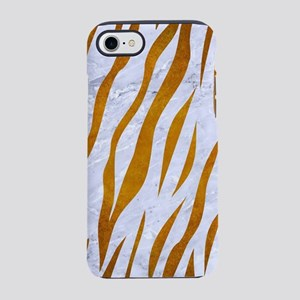 SKIN3 WHITE MARBLE & YELLOW iPhone 8/7 Tough Case