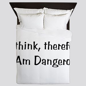 Dangerous Thinker Queen Duvet