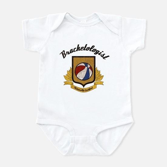 Bracketologist Infant Bodysuit